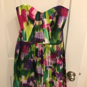 Shoshanna water color dress